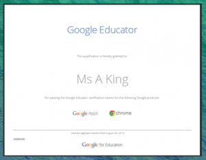 Google Educator Logo
