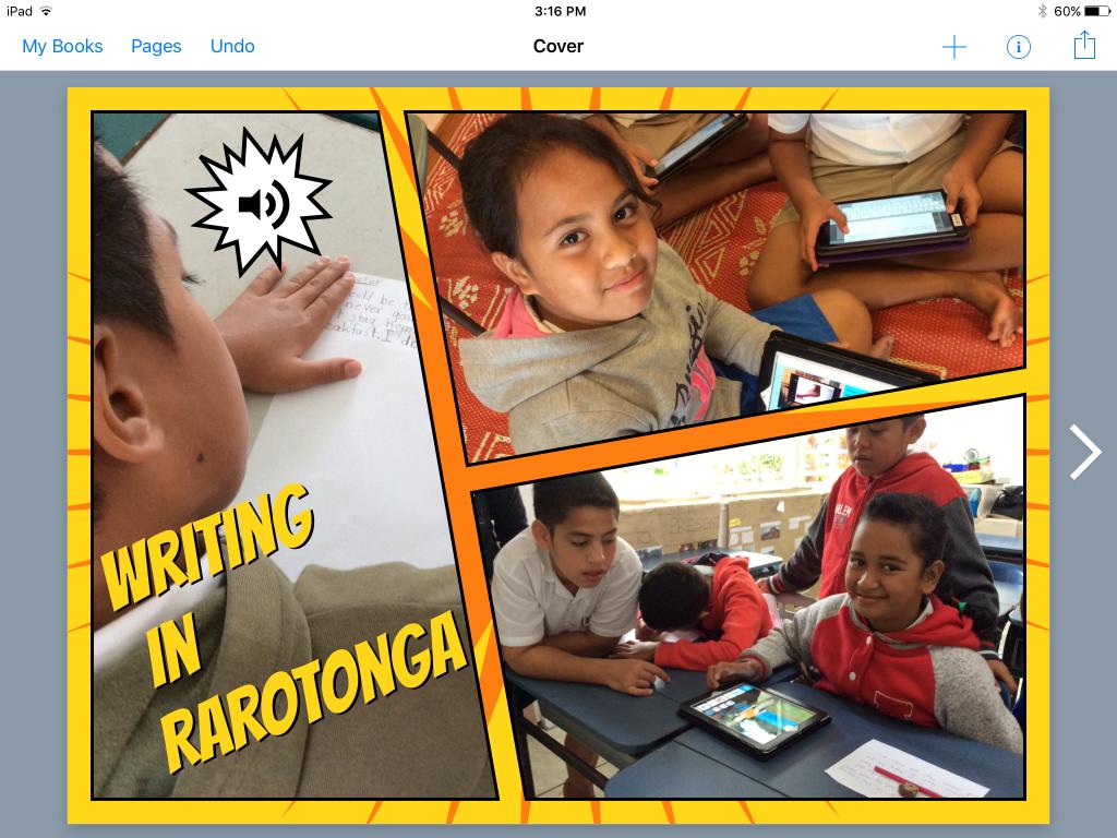Book Creator Rarotonga